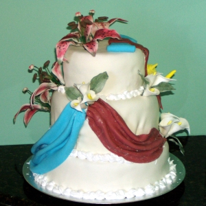 Daniel and France's Post Wedding Cake, view 2