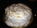 Yellow Cake Meringe Frosting 1Small