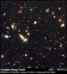 Hubble Deep Field Image