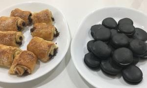 Macarons and Pain Au Chocolat