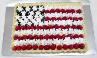 Finished Flag Tart