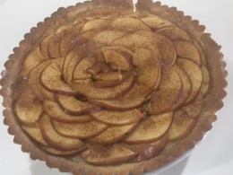 apple tart finished