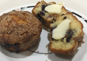 blueberry muffins cropped